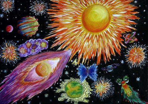 Картинки космосдля детей 5 лет