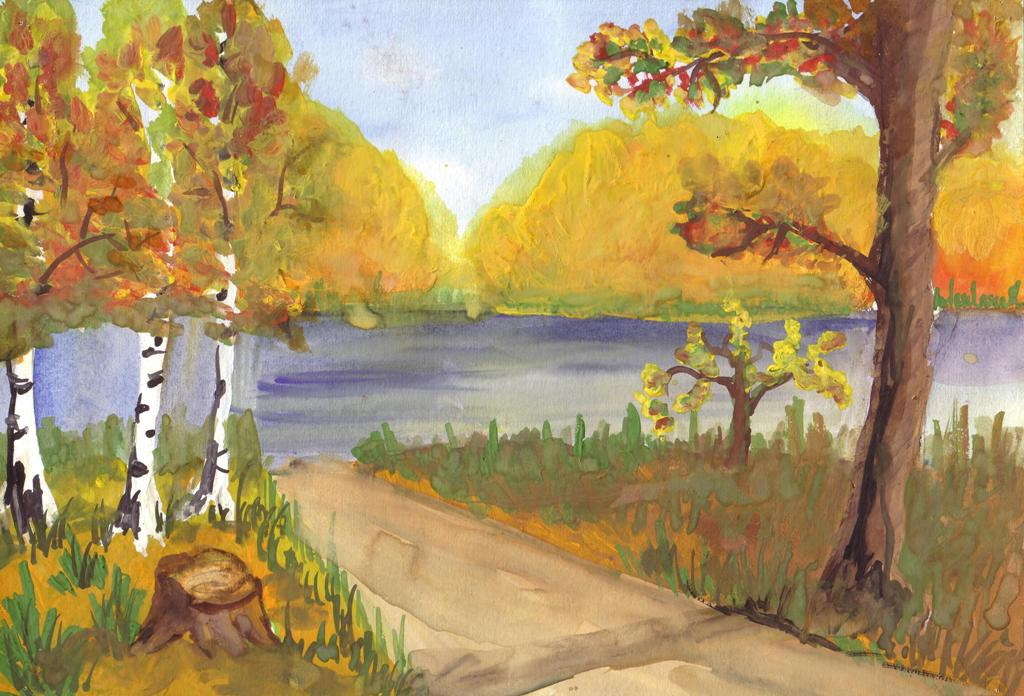 фото картинки рисунки осень