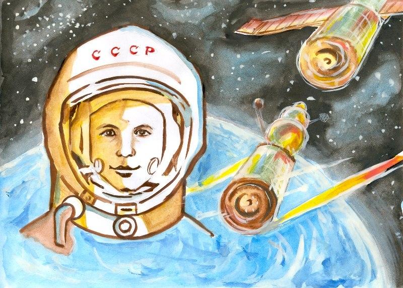 Рисунки своими руками космос в