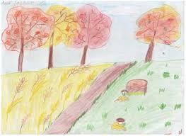 Картинки осени для 1 класса