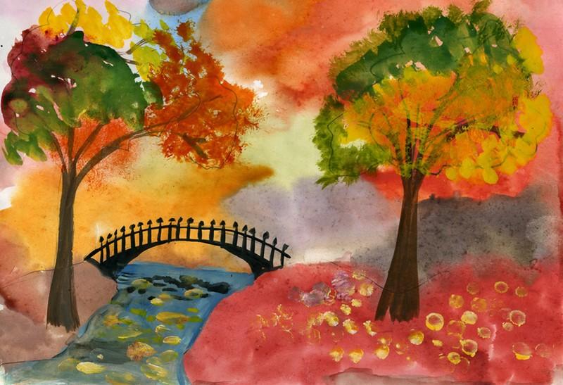 Конкурс рисунков на тему осень 1 класс 182