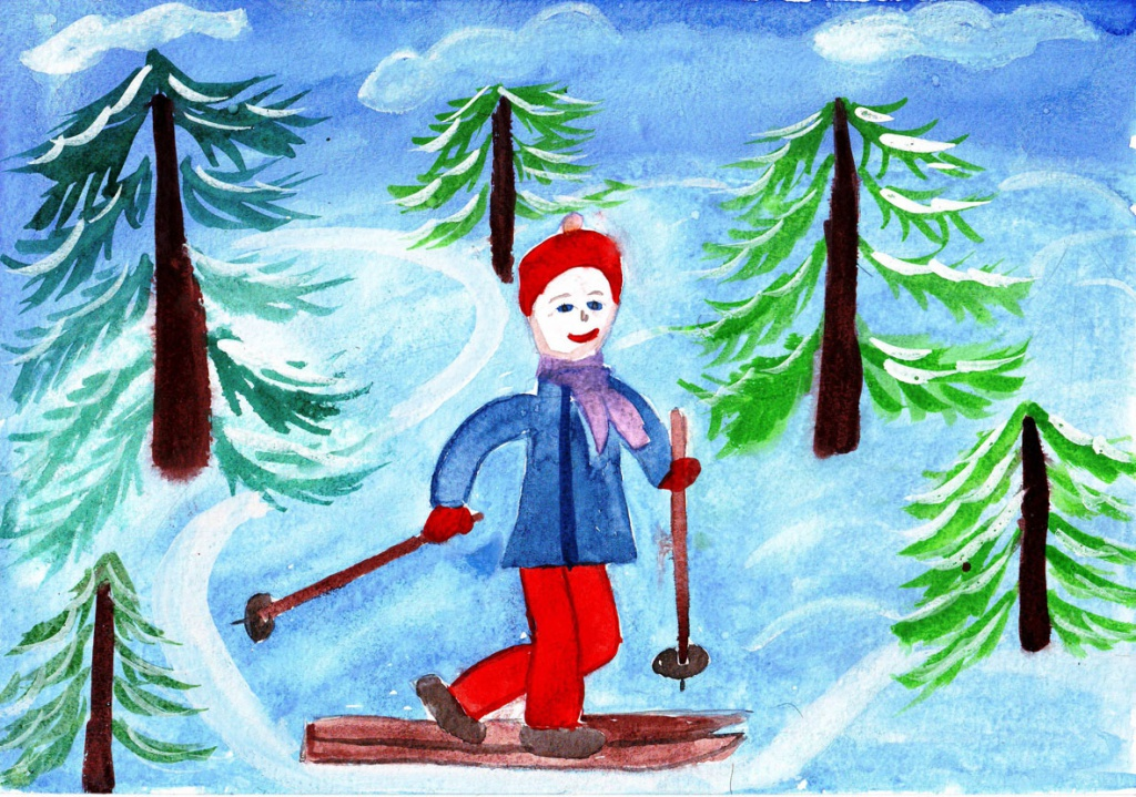 Картинки и рисунки на тему зима
