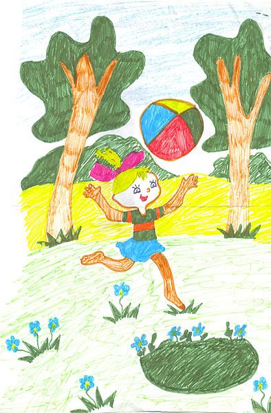 Картинки по клеточкам на тему лето