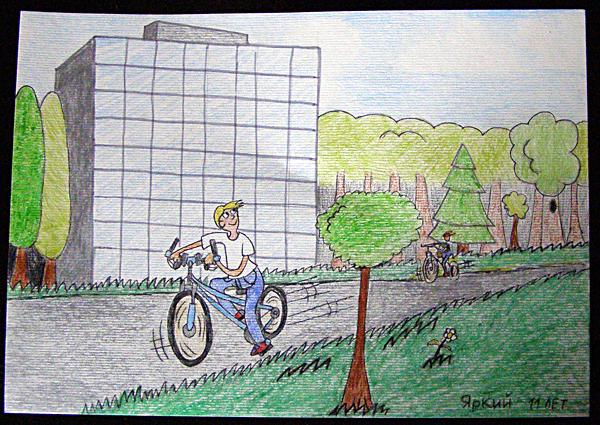 Картинки про лето карандашом для детей