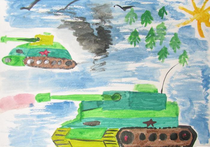 Картинки о войне детям 6 лет