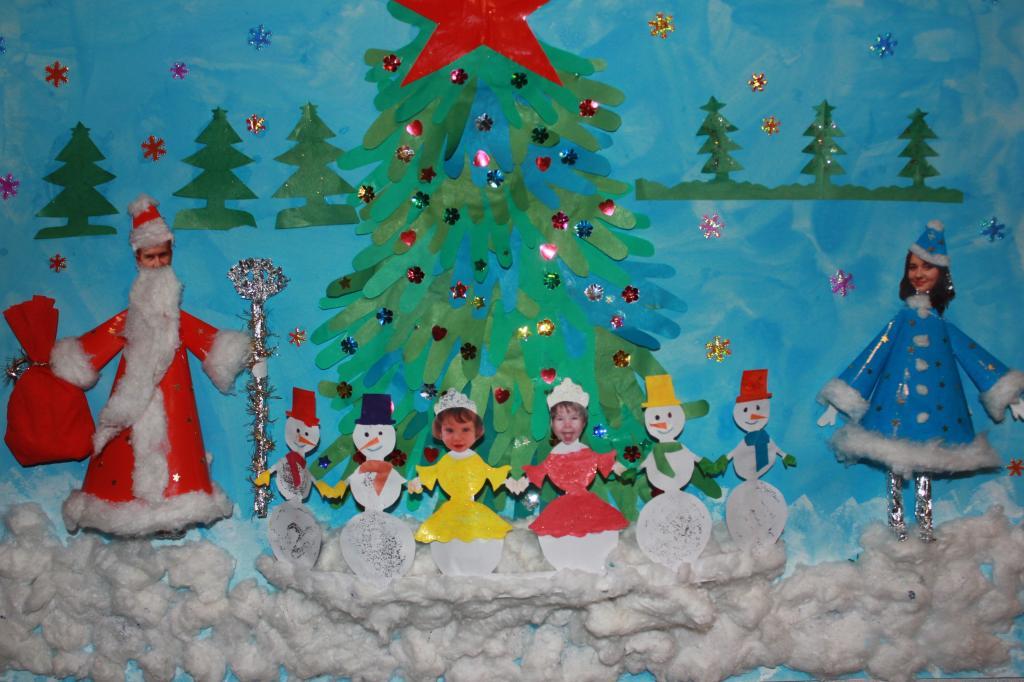 Детские поделки на новый год своими руками картинки
